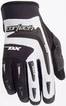 Cortech White/Black Womens Large DX 2 Textile Motorcycle Gloves Lrg Lg L